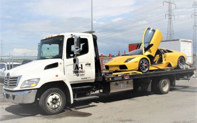Exotic-Vehicle-Towing