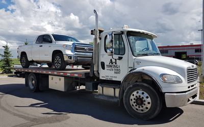 Light Duty Flatbed Towing